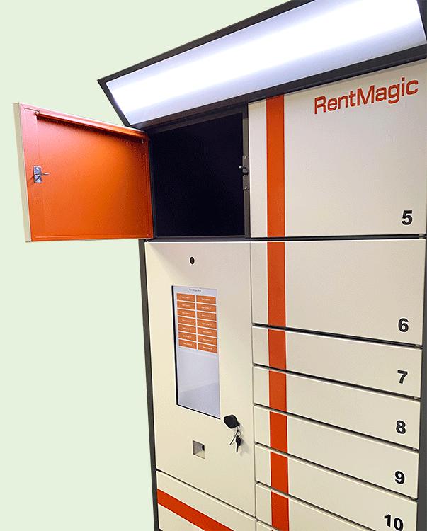 RentMagic Box vending